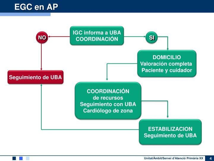 EGC en AP