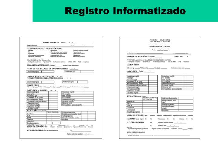 Registro Informatizado