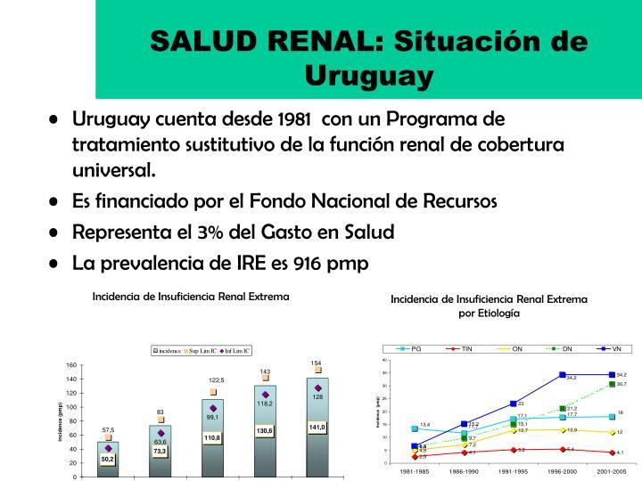 SALUD RENAL: Situación de Uruguay