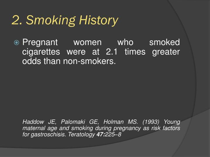 2. Smoking History