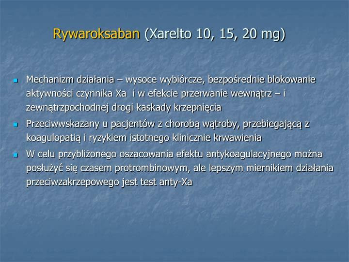 Rywaroksaban
