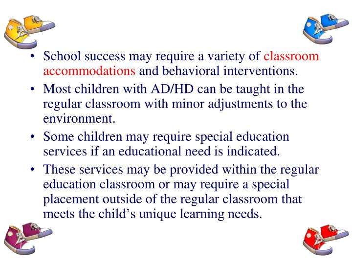School success may require a variety of