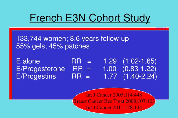 French E3N Cohort Study