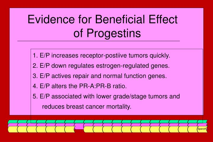 Evidence for Beneficial Effect