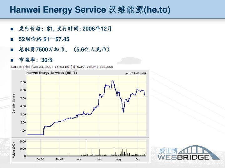 Hanwei Energy Service