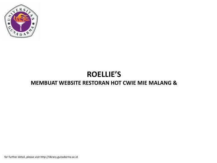 ROELLIE'S