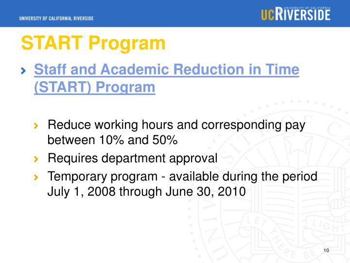 START Program