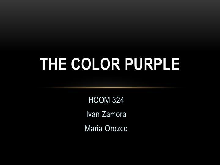 color purple critical essay