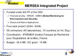 mersea integrated project