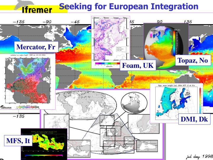 Seeking for European Integration