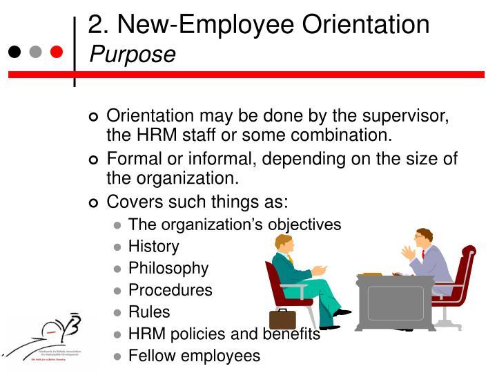 2. New-Employee Orientation