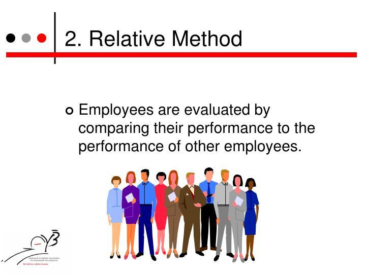 2. Relative Method
