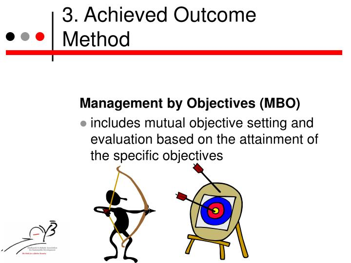 3. Achieved Outcome Method