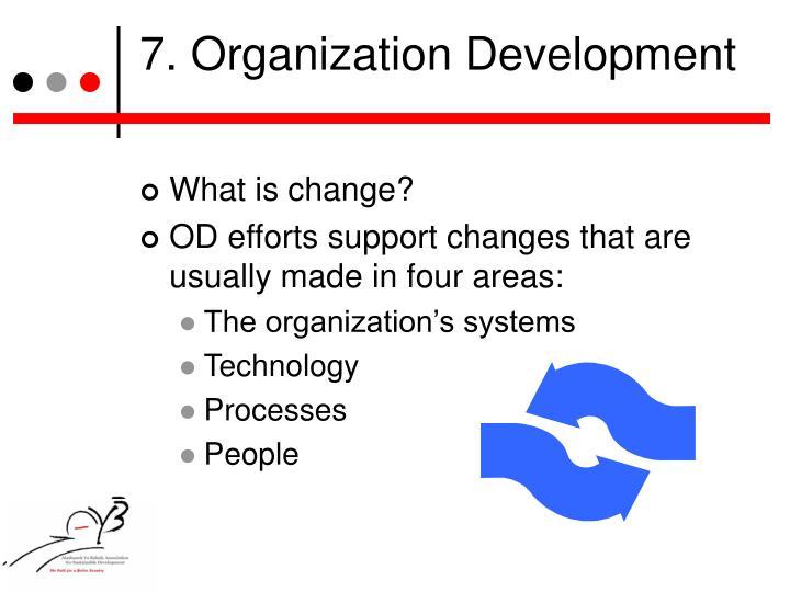 7. Organization Development
