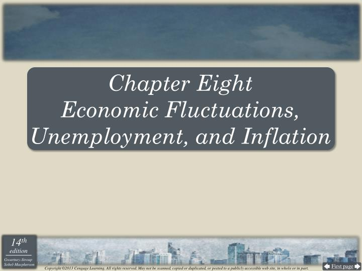Chapter eight economic fluctuations unemployment and inflation