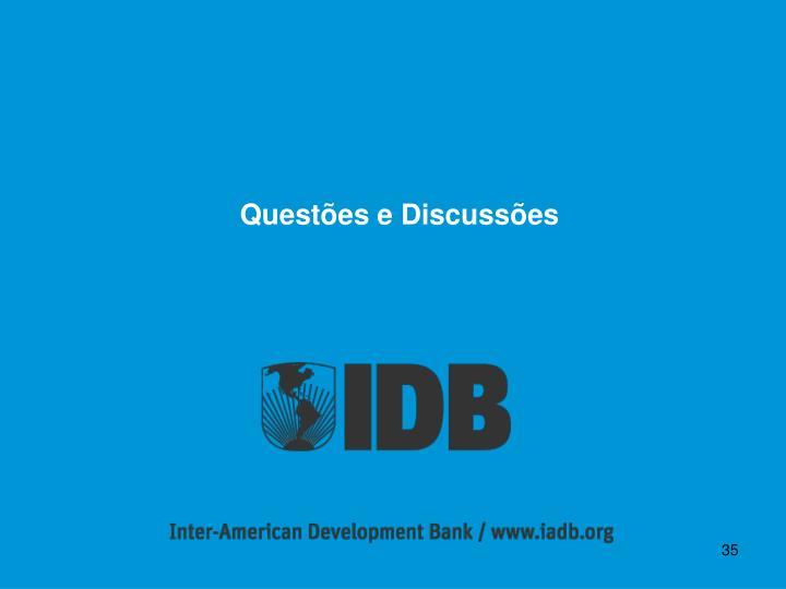 Questões e Discussões