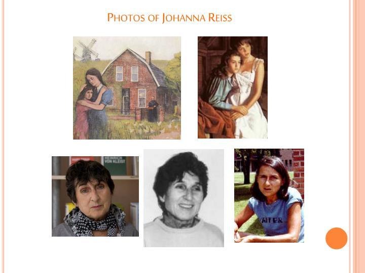 Photos of Johanna Reiss