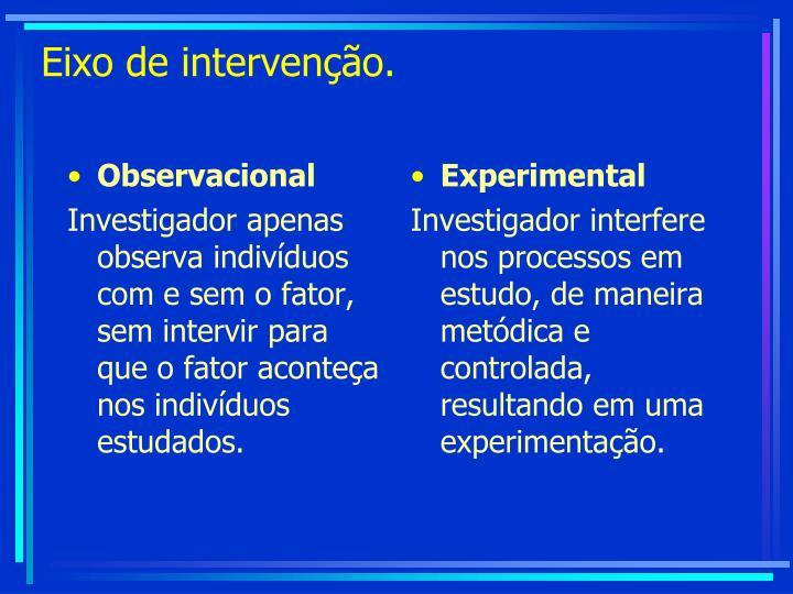 Observacional