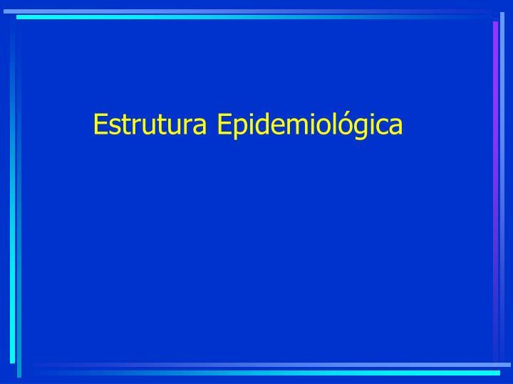 Estrutura Epidemiológica