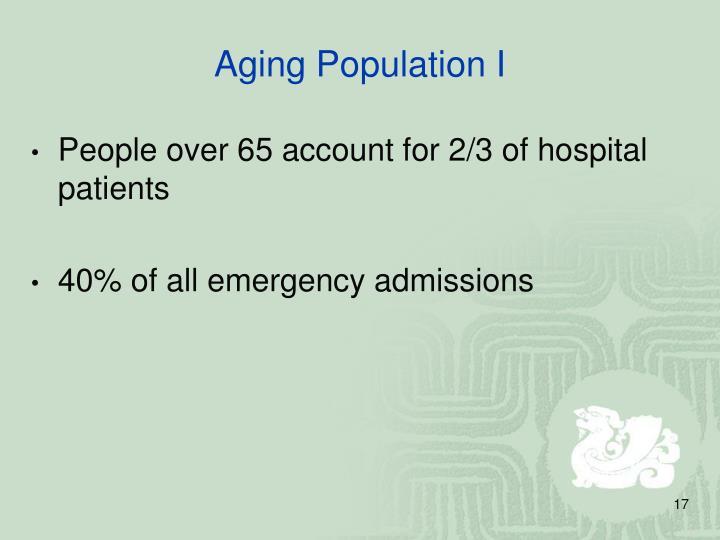 Aging Population I