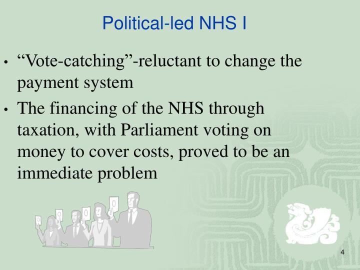 Political-led NHS I