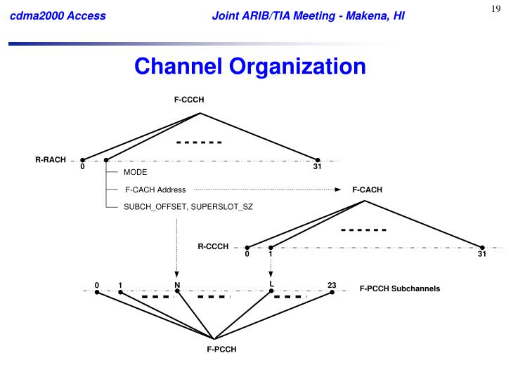 Channel Organization