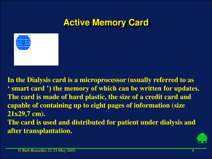 Active Memory Card