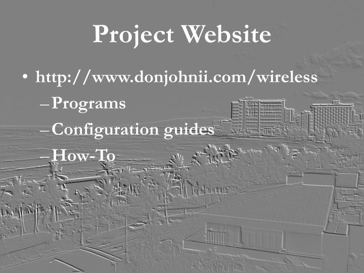 Project Website