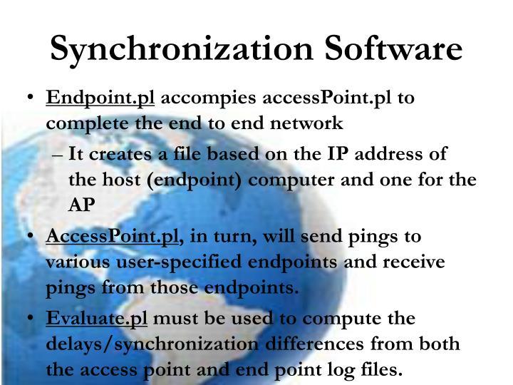 Synchronization Software