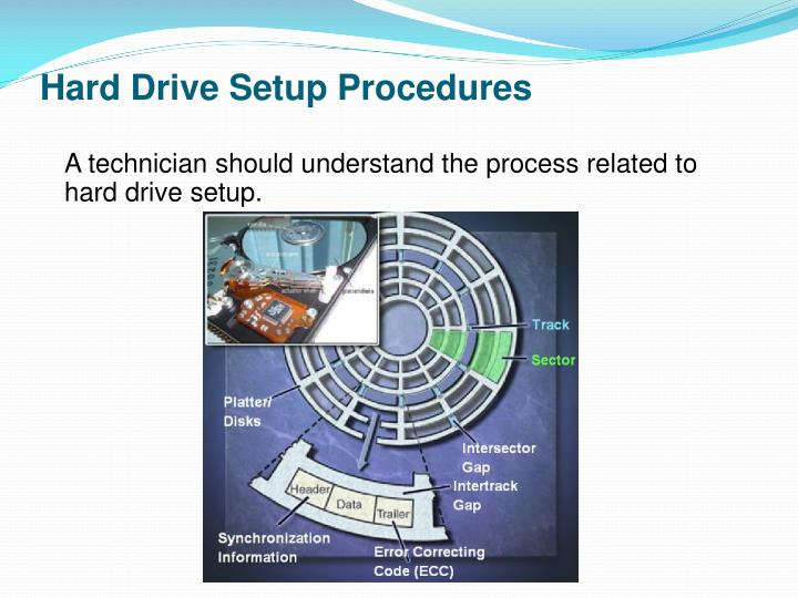 Hard Drive Setup Procedures