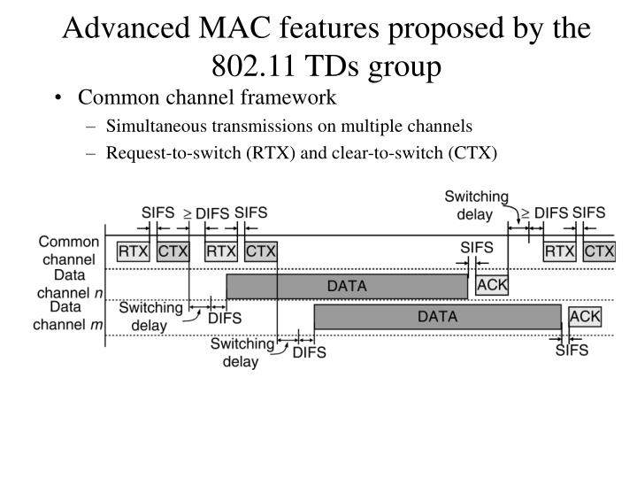 Common channel framework
