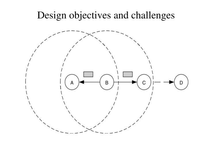 Design objectives and challenges
