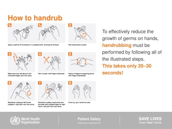 How to handrub