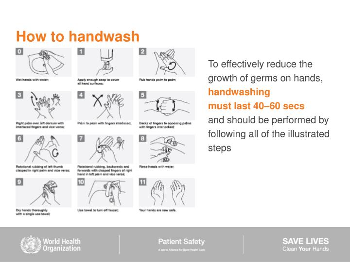 How to handwash