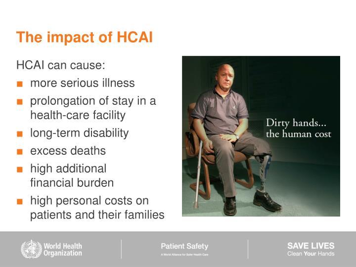 The impact of HCAI