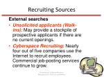 recruiting sources11