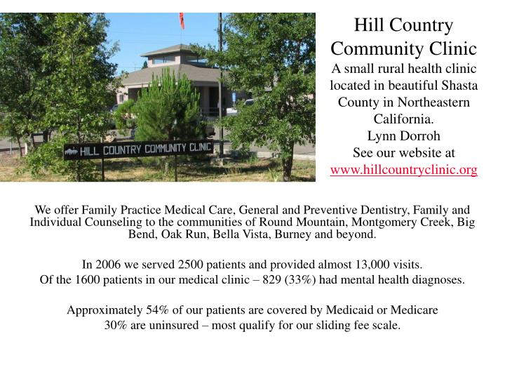 Hill Country Community Clinic