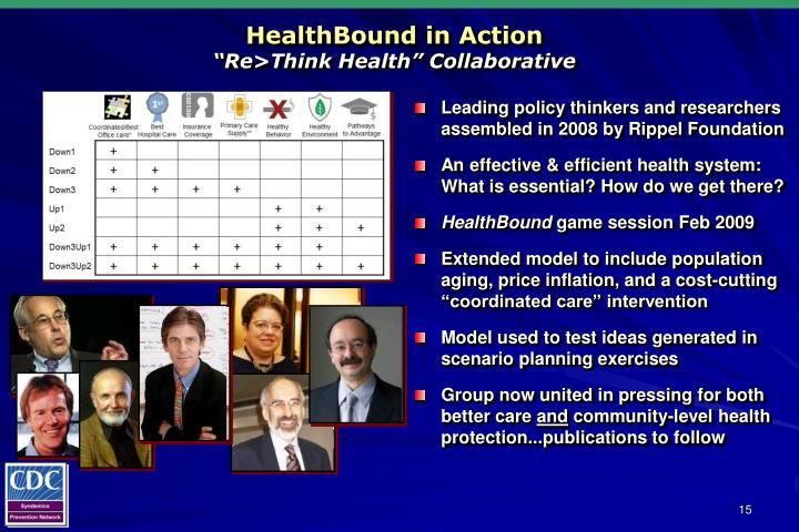 HealthBound in Action