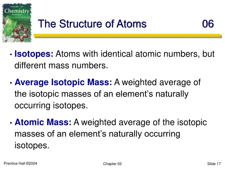 The Structure of Atoms	06