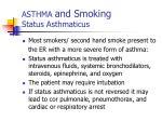 asthma and smoking status asthmaticus1