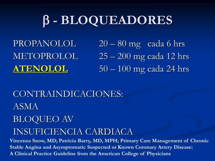  - BLOQUEADORES