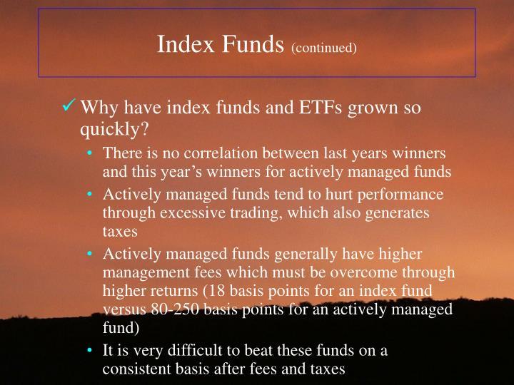 Index Funds