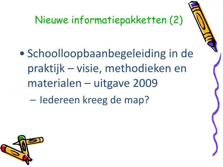 Nieuwe informatiepakketten (2)