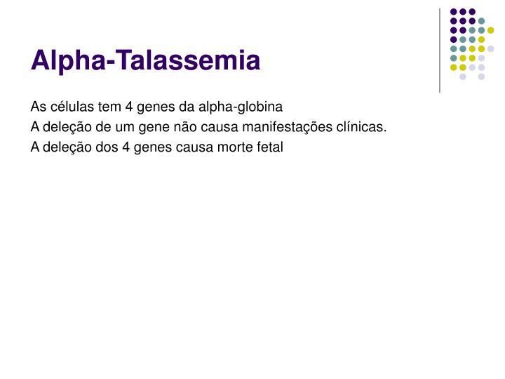 Alpha-Talassemia