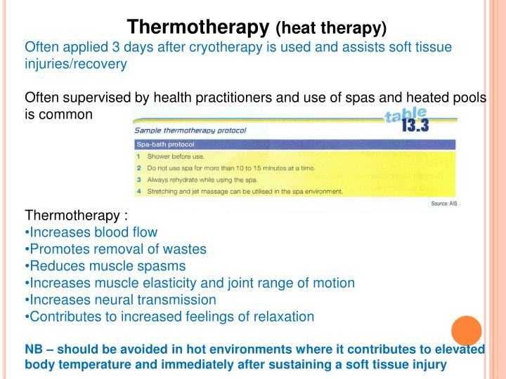 Thermotherapy