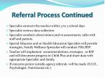 referral process continued1