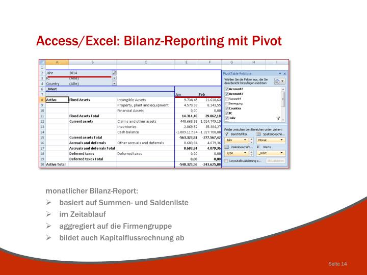 Access/Excel: