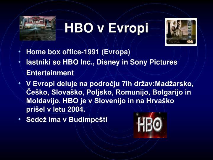 HBO v Evropi