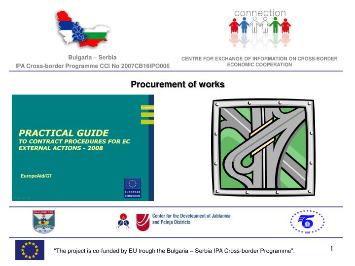 Procurement of works