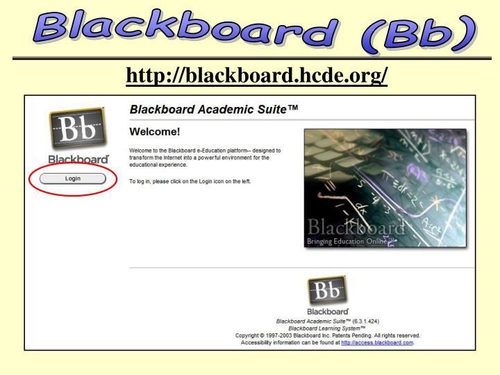 Blackboard (Bb)